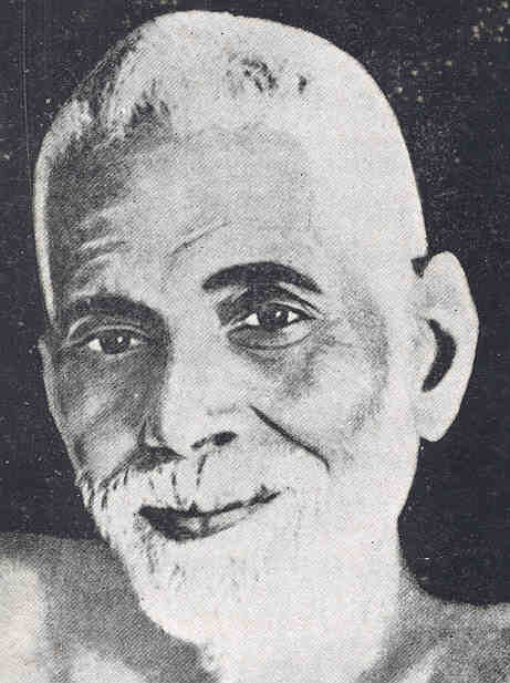 A picture of Ramana Marharshi
